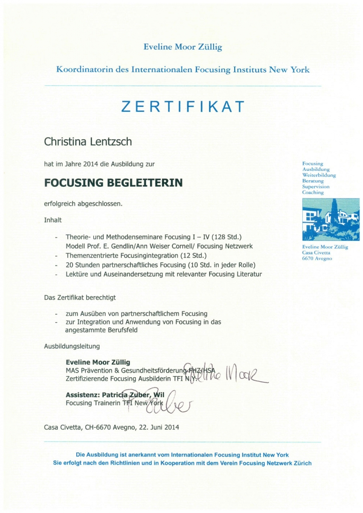 Christina-Lentzsch-Focusing