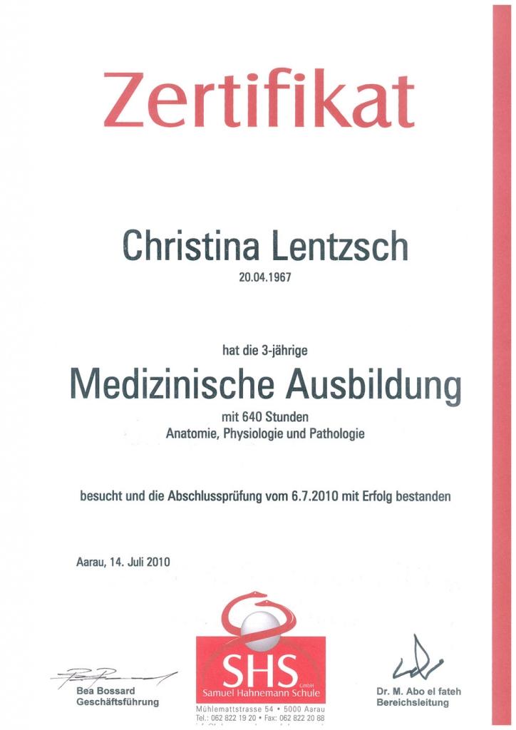 Christina-Lentzsch-Medizin SHS